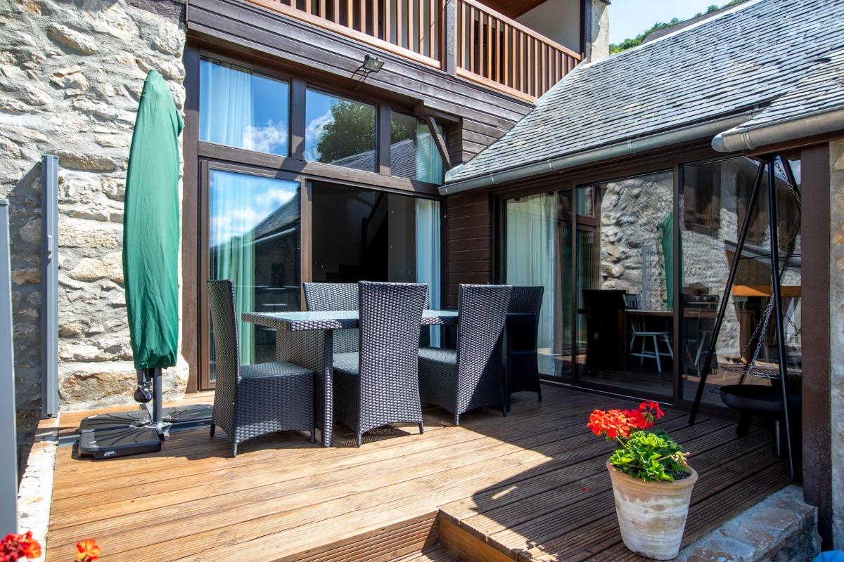 Le gite Louron avec terrasse vue montagne - Location de vacances - Cazaux-Debat