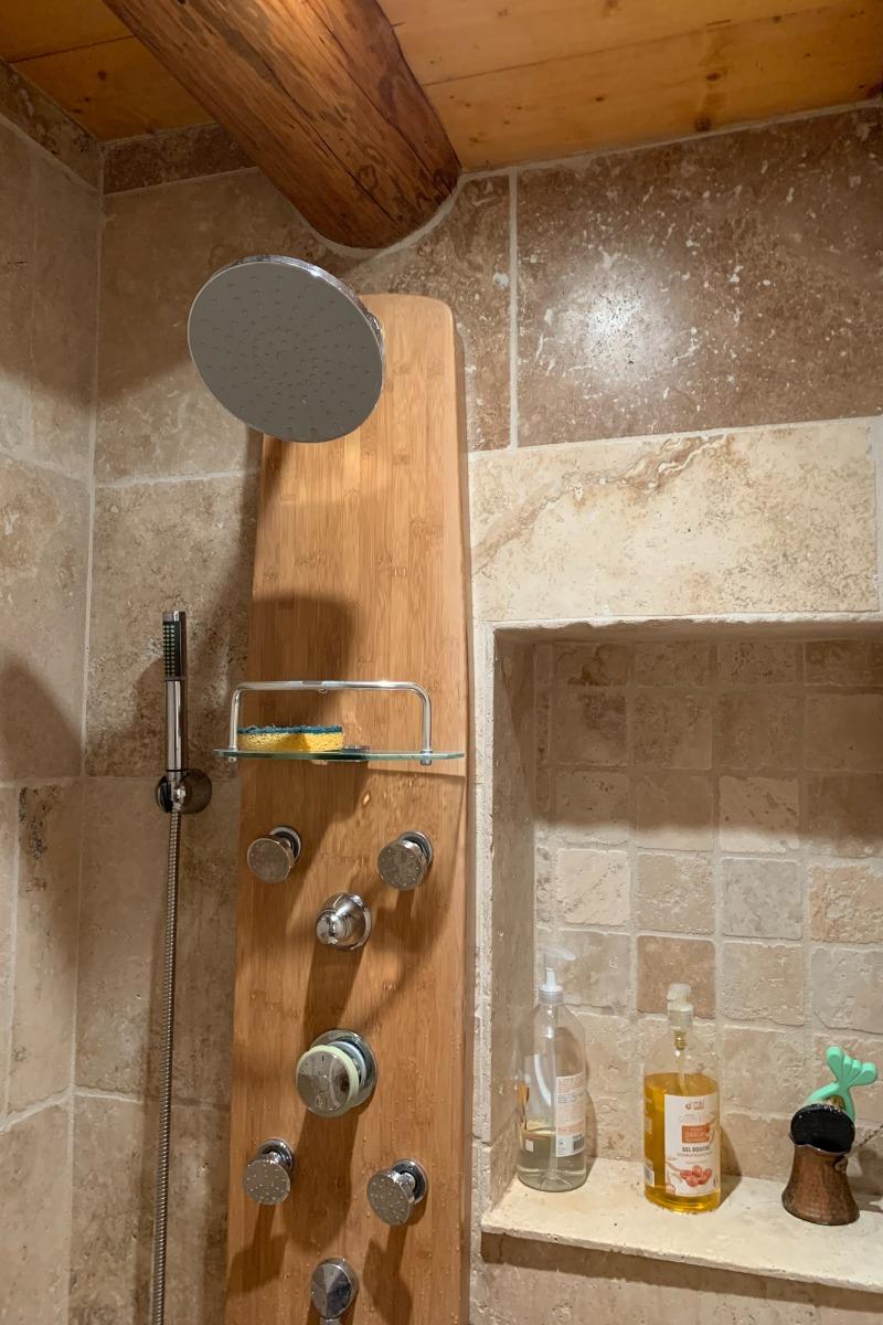 salle de bain hammam Aster - Location de vacances - Cazaux-Fréchet-Anéran-Camors
