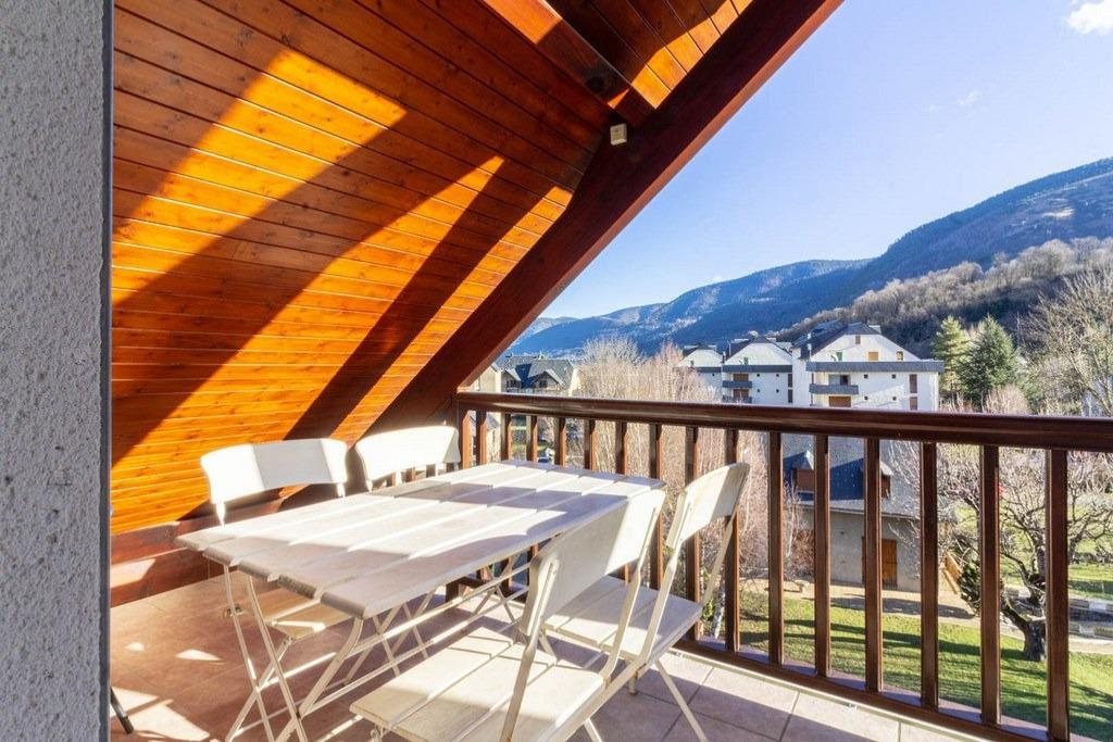 Terrasse vue montagne - Location de vacances - Saint-Lary-Soulan