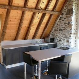 Coin cuisine - Location de vacances - Artalens-Souin