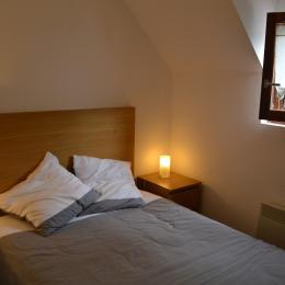 La chambre, lit en 140 - Location de vacances - Loudenvielle