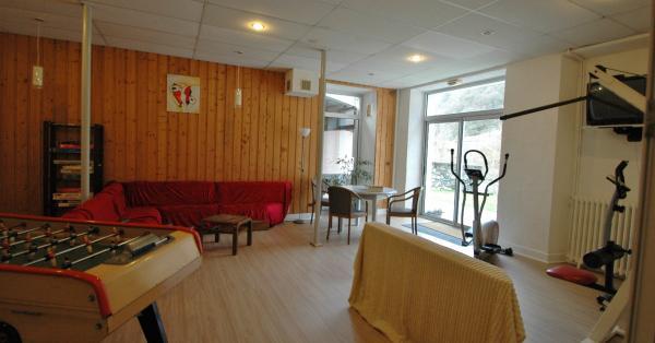 La salle de détente située à la Résidence Le Chili - Location de vacances - Luz-Saint-Sauveur