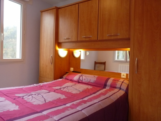 La chambre séparée de l'appart 2 du Bédéret - Location de vacances - Luz-Saint-Sauveur