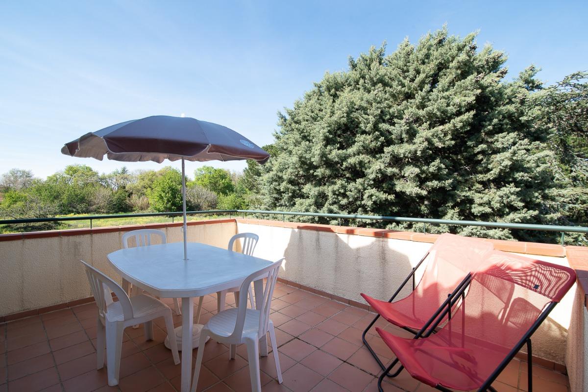 Salle de séjour - coin salon - Location de vacances - Argelès-sur-Mer