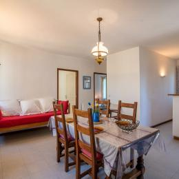cuisine à l'américaine attenant à salle de séjour - Location de vacances - Argelès-sur-Mer