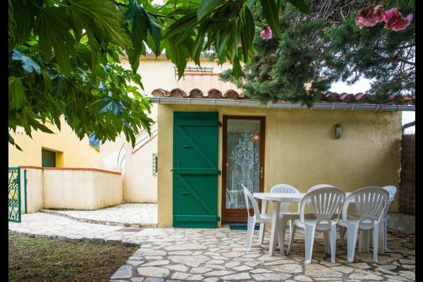 salle de séjour - cuisine - Location de vacances - Argelès-sur-Mer