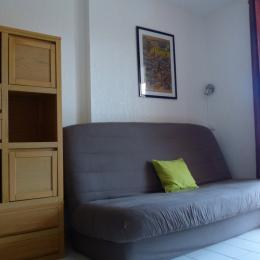 pièce principale ; couchage suplémentaire - Location de vacances - Collioure