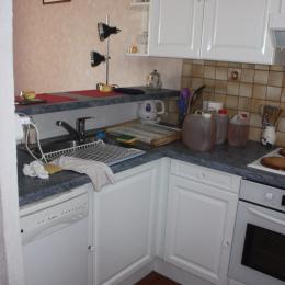 Vue de la salle d'eau. - Location de vacances - Canet-en-Roussillon