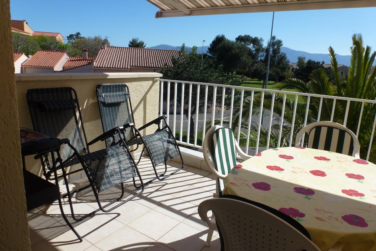 terrasse plein sud  - Location de vacances - Saint-Cyprien