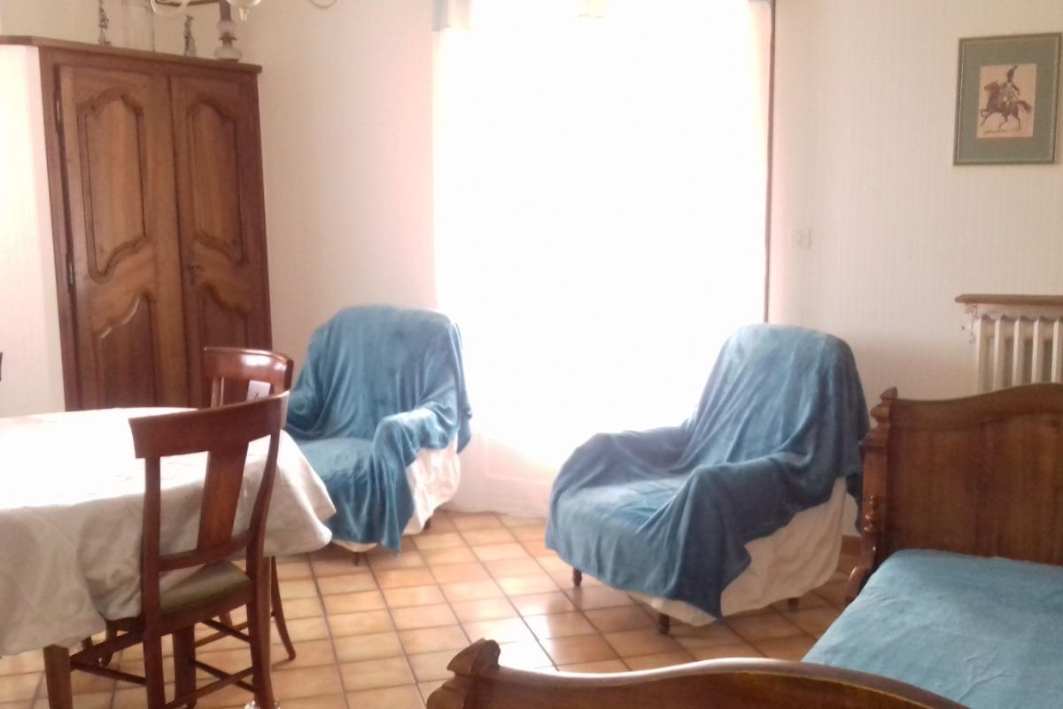 séjour salon - Location de vacances - Corsavy