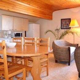 Séjour-cuisine - Location de vacances - Font-Romeu-Odeillo-Via