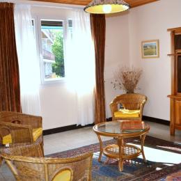 Vue sur jardin - Location de vacances - Font-Romeu-Odeillo-Via