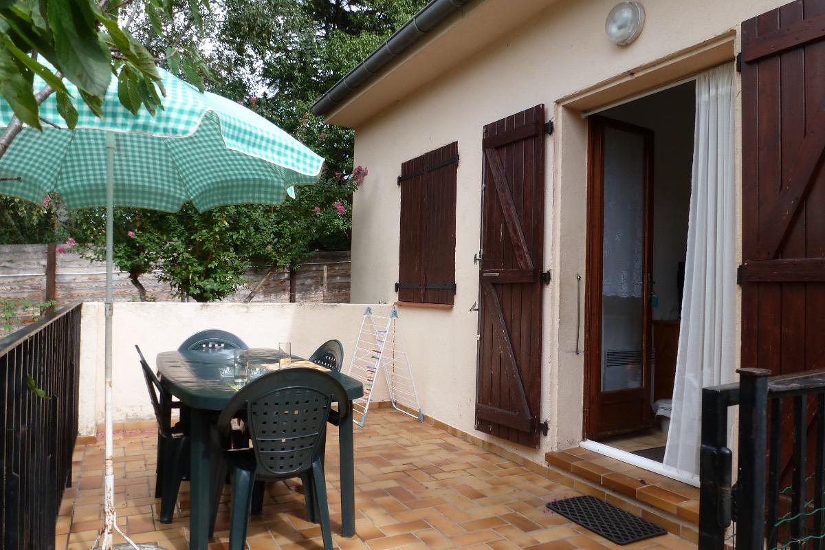 terrasse - Location de vacances - Reynès