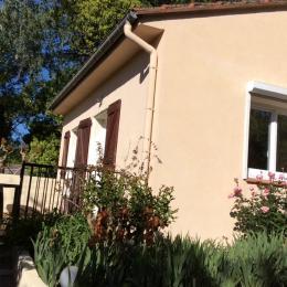 Terrasse T3  - Location de vacances - Reynès