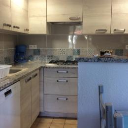 cuisine avec lave-vaisselle  - Location de vacances - Reynès