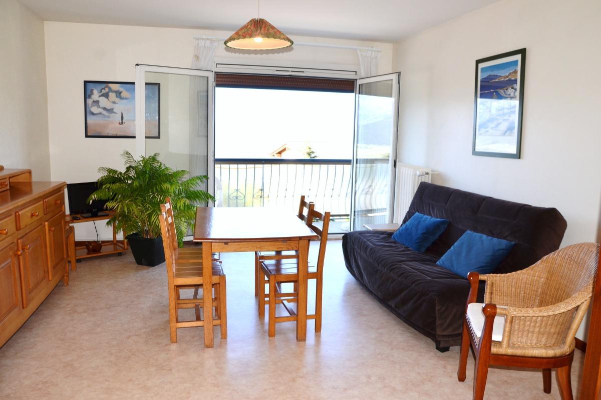 Séjour côté cuisine - Location de vacances - Font-Romeu-Odeillo-Via