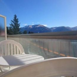 Vue du balcon - Location de vacances - Font-Romeu-Odeillo-Via