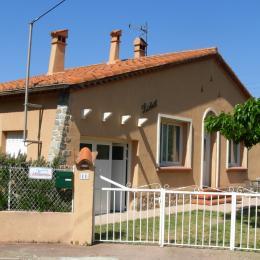 Vue de la placette - Location de vacances - Amélie-les-Bains-Palalda