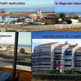 vue imprenable sur le port et la mer méditerranée - Location de vacances - Le Barcarès