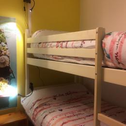 Chambre 2 lits en 90 - Location de vacances - Dorres
