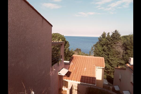 photo depuis l'entrée de la location - Location de vacances - Collioure