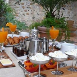 petit déjeuner - Chambre d'hôtes - Rivesaltes