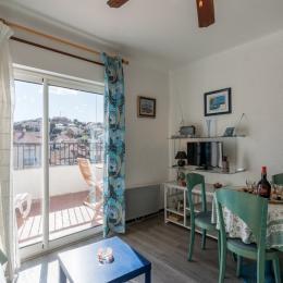 Salon avec couchage en 90 - Location de vacances - Banyuls-sur-Mer