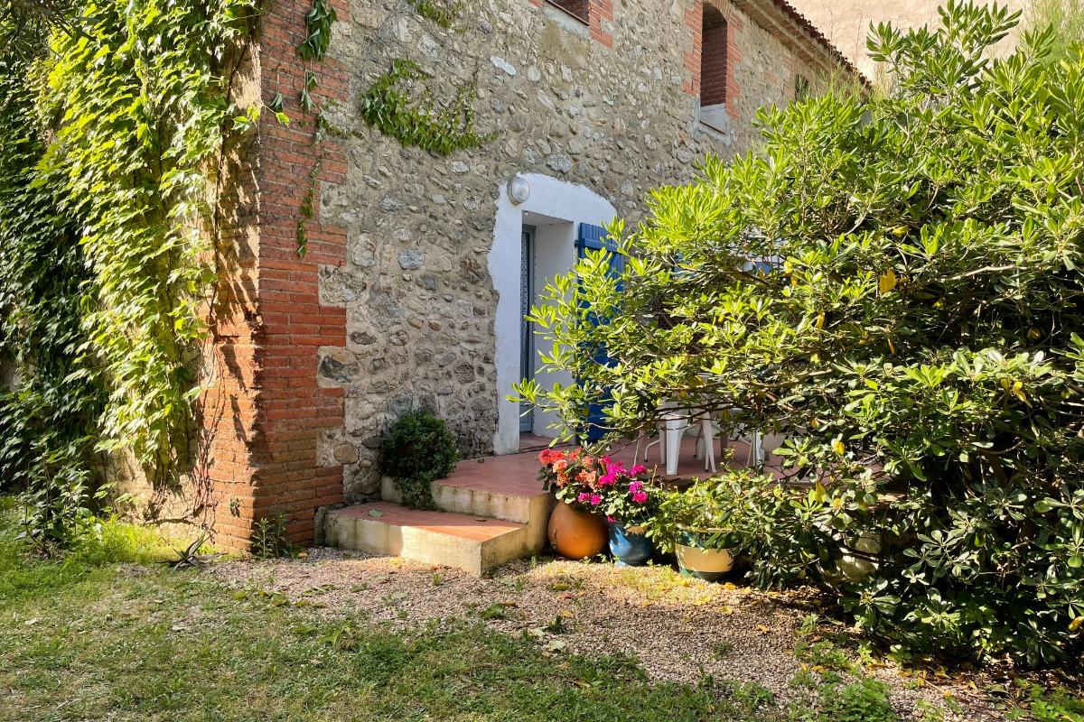 Gîte Le Thym - la terrasse - Location de vacances - Argelès-sur-Mer