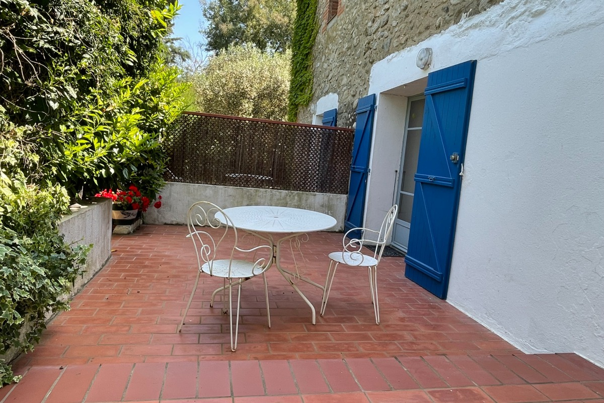 Les Romarins location de vacances avec terrasse et jardin - Location de vacances - Argelès-sur-Mer
