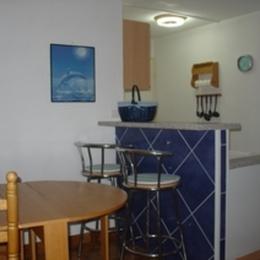 Vue appartement depuis plage  - Location de vacances - Saint-Cyprien