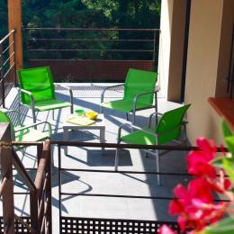 terrasse - Location de vacances - Prades