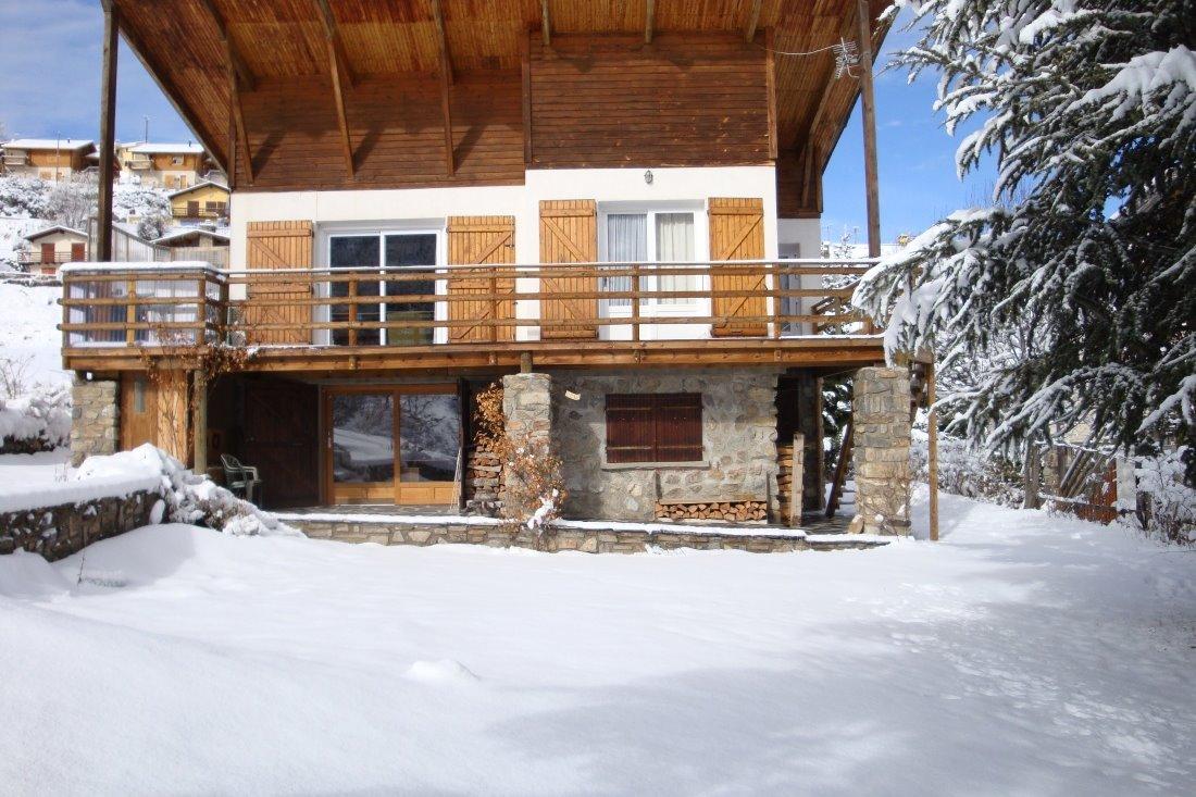 vue du chalet en hiver - Location de vacances - Saint-Pierre-dels-Forcats