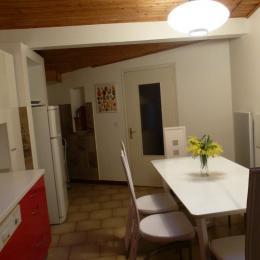 la cuisine avec lave-vaisselle  - Location de vacances - Argelès-sur-Mer