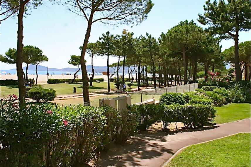vue de la terrasse - Location de vacances - Argelès-sur-Mer