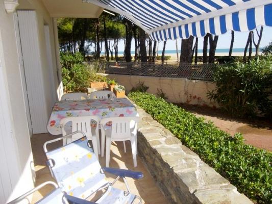 la terrasse et son store - Location de vacances - Argelès-sur-Mer