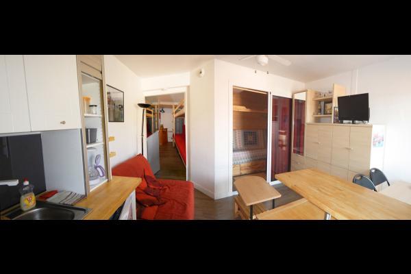 salon/cuisine - Location de vacances - Collioure