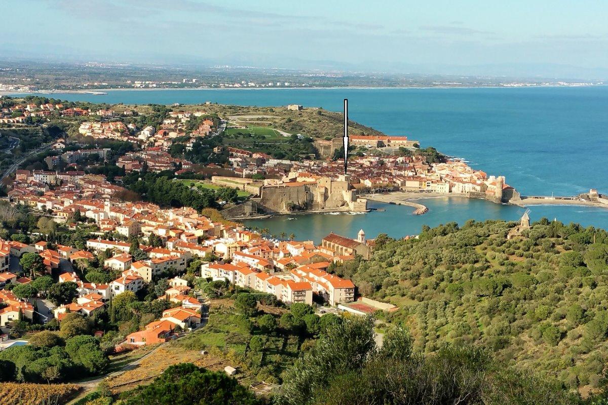 Situation de la location - Location de vacances - Collioure