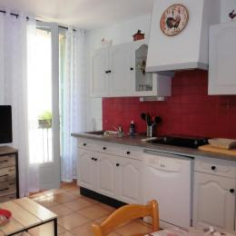 Coin cuisine - Location de vacances - Collioure