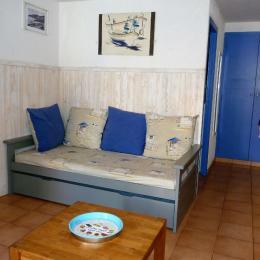 Banquette lit gigogne - Location de vacances - Collioure