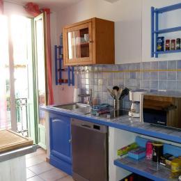 Cuisine Américaine - Location de vacances - Collioure