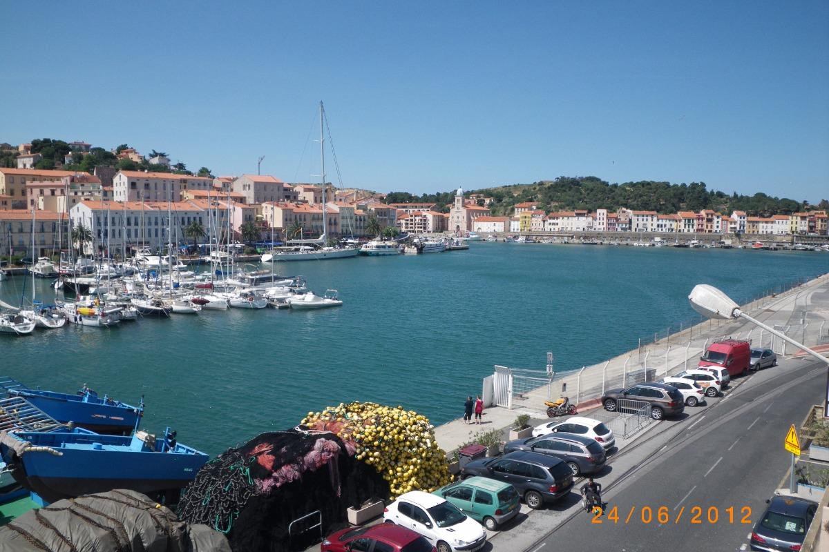 vue depuis l'appartement - Location de vacances - Port-Vendres