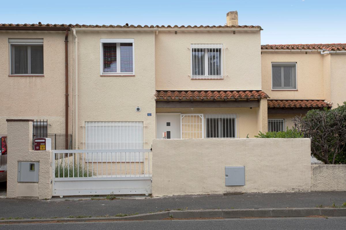 façade coté rue - Location de vacances - Perpignan