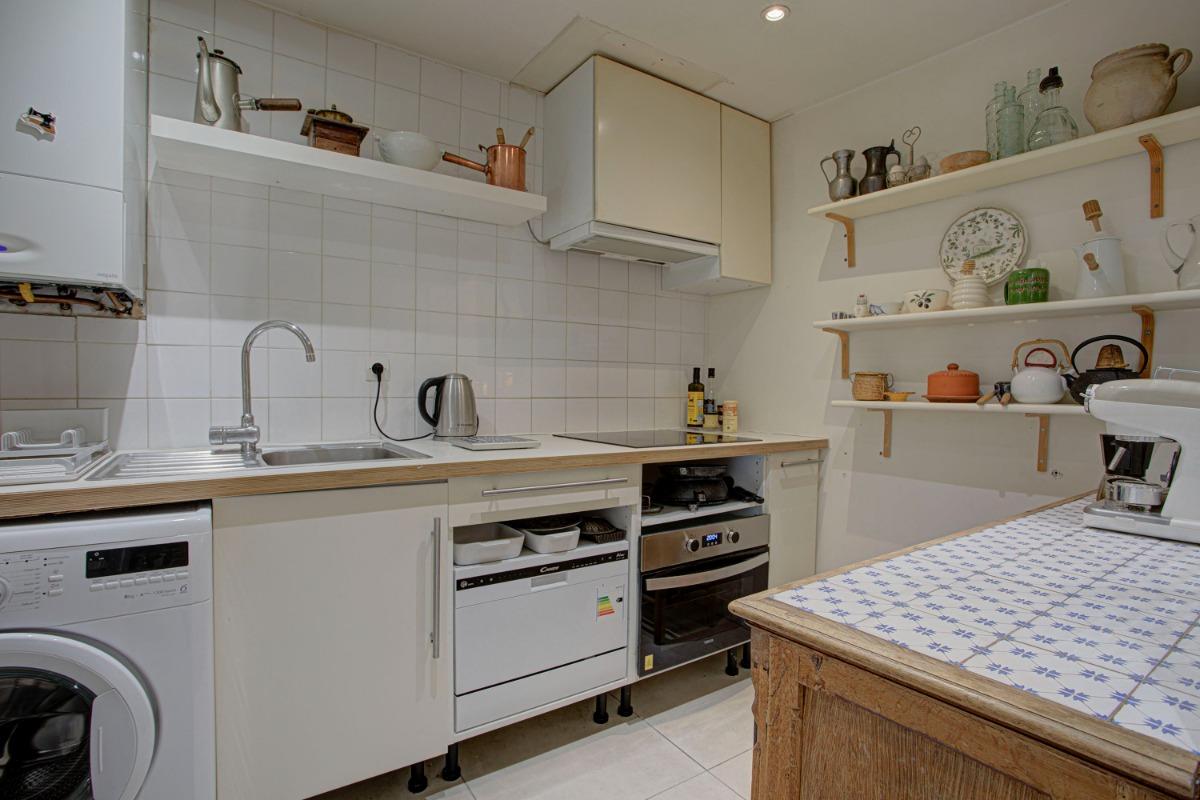 Le salon vu de l'entrée - Location de vacances - Perpignan