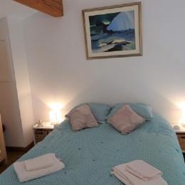 chambre à coucher - Location de vacances - Collioure