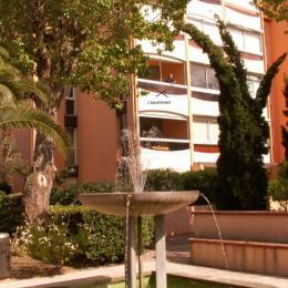 l'appartement vu du parc - Location de vacances - Argelès-sur-Mer