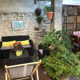 Le patio - Chambre d'hôtes - Néfiach