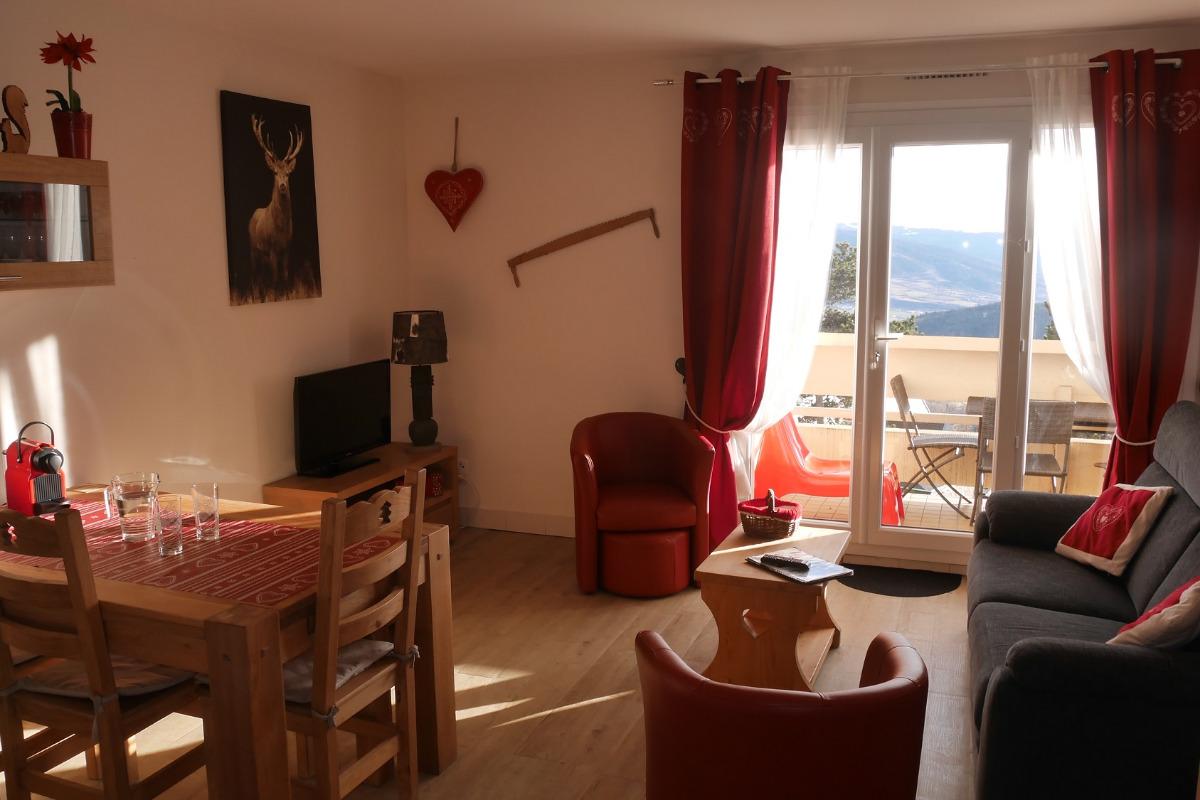 T3 - Salon - Location de vacances - Font-Romeu-Odeillo-Via