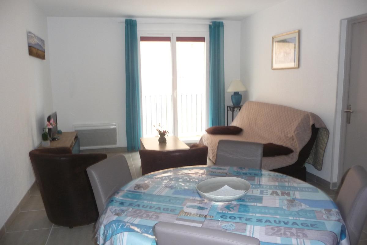 Salon, Salle à manger - Location de vacances - Port-Vendres