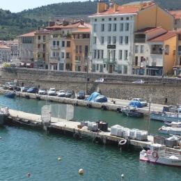 Vue du balcon - Location de vacances - Port-Vendres
