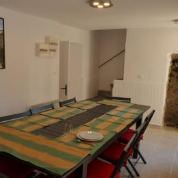 Salle de séjour avec sa niche typique - Location de vacances - Taulis